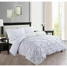 pinch pleat duvet quilt cover bedding