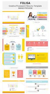 Powerpoint Resume Examples Infographic Resume Template Ppt Dadajius 2