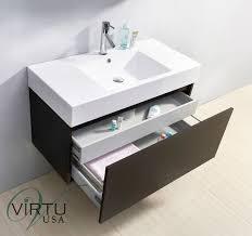 39 Bathroom Vanity 39 Virtu Zuri Js 50339 Wg Single Sink Bathroom Vanity Wenge