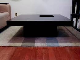 Large Dark Wood Coffee Table Interior Home Design