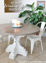 diy outdoor farmhouse table. Free Woodworking Plans To Build A Chunky French Farmhouse Style 48\ Diy Outdoor Table R