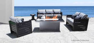 outdoor furniture trends. Lakeview Modern Cast Aluminum Patio Furniture Set Shop At Cabanacoast Outdoor Trends