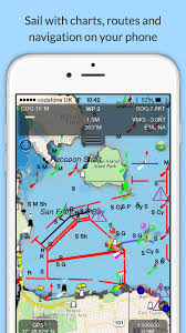 Navigation Charts For Iphone Marine Navigation Charts App Click Boat Blog
