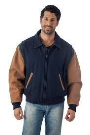 reed men s premium quality leather letterman varsity jacket