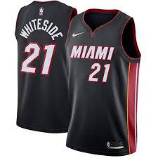 Nike Youth Swingman Jersey Size Chart Amazon Com Nike Hassan Whiteside Miami Heat Icon Edition