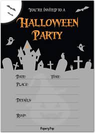 halloween invitations cards 30 halloween party invitations with envelopes halloween invitations