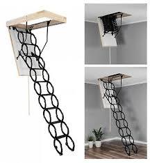 Wird der dachboden nur als abstellraum genutzt, bietet sich eine praktische bodentreppe an. Scherentreppe 70x120 250 280 Dachbodentreppe Bodentreppe Klapptreppe Innentrep