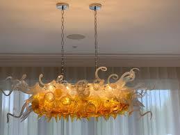 Großhandel Künstlerische Moderne Kronleuchter Benutzerdefinierte Mundgeblasenem Glas Kristall Kronleuchter Beleuchtung Wohnzimmer Schlafzimmer Led