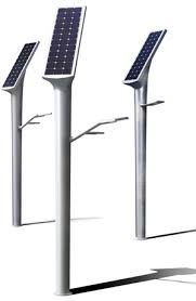 Solar LED Street Light With 8m Light Pole And Supporting Bracket Solar Pole Lighting