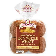 brownberry arnold oroweat 100 whole wheat sandwich buns