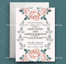 Free Invitation Template Download Wedding Invitation Template Free Download Psd Lazine Net