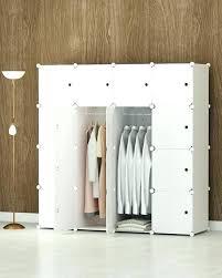 Portable Bedroom Closet Portable Bedroom Closet Portable Clothes Closet  Wardrobe Bedroom Storage Organizer With Doors Capacious . Portable Bedroom  ...