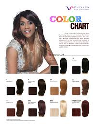 Lace Wig Hair Color Chart Color Chart Vivica A Fox Namebrandwigs Com