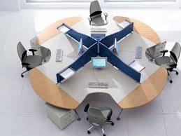 office designs computer furniture design round desk for within idea 11
