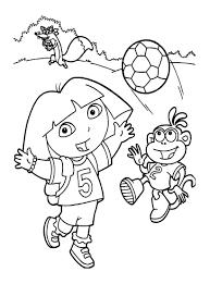 Dora Lexploratrice 9 Coloriages De Dora L Exploratrice