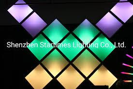 Led Panel Stage Lighting Hot Item Magical 5 Years Warranty Dj Stage Equipment Changeble Pixel Rgb Addressable Led Panel Christmas Decorations Christmas Light Led Lighting