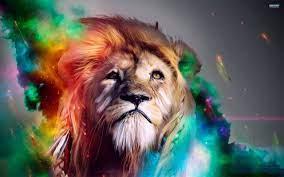 Roaring Lion Galaxy Wallpaper - Novocom.top
