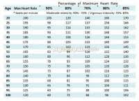 Maximum Heart Rate Chart By Age And Gender Maximum Heart Rate Chart By Age And Gender Resting