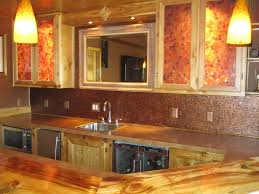Copper Backsplash Kitchen Ideas Copper Backsplash For Kitchen Home Design And Decor