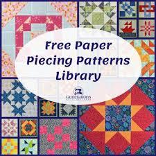 Paper Pieced Quilt Patterns