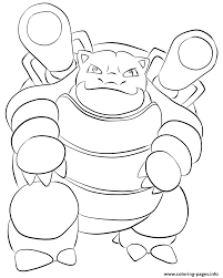 Small Picture 009 blastoise pokemon Coloring pages Printable