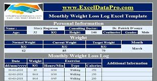 Weight Log Template Employee Training Log Template Excel