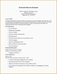College Student Resume For Part Time Job Part Time Job Resume