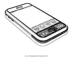 Disegno Iphone Misti Da Colorare