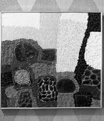 Florida Memory • Mosaic work created by Sarasota artist Beth Arthur.
