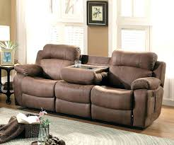 Double Rocker Recliner Loveseat Leather Double Reclining Loveseat With Console Trendy Full Size Of