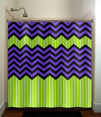 green chevron shower curtain. lime green stripe purple zig zag chevron shower by tablishedworks, $67.00 curtain c