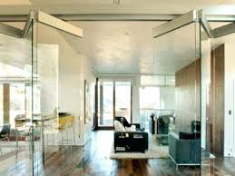 medium folding glass doors interior internal sliding large