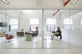 natural light office. clean and creative new york office natural light a
