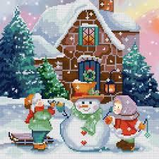 <b>ALVR</b>-<b>109</b> Кристальная <b>мозаика</b> (<b>алмазная</b> вышивка) Зимние ...
