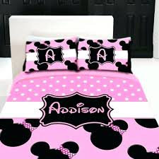 minnie mouse comforter full mouse full size comforter items similar to mouse custom personalized bedding set on mouse full size comforter