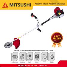 gardening power tools mitsushi cg35 4 stroke air cooled brush cutter grass cutter lawn mower