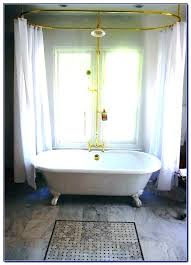 shower curtains clawfoot tubs bathtub