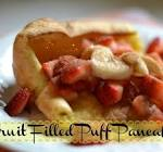 insert fruit here   puff pancake