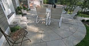 concrete patio patio ideas backyard