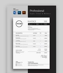 22+ Invoice Template Free For Word PNG