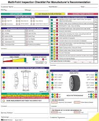 Inspection Form Auto Service Multi Point Inspection Forms Dodson Group