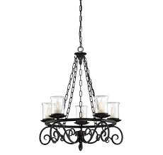 welch 5 light outdoor chandelier