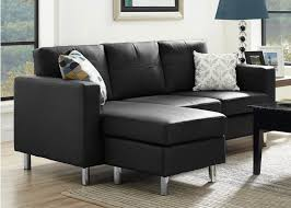 couches for small spaces. Simple For Space Saving Black Sectional Sofa For Small Spaces Inside Couches For Small Spaces N
