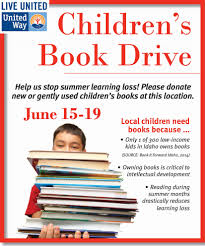 book drive poster