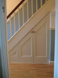 Pantry Under Stairs Under Stairs Closet Door Under Stair Storage Pinterest