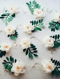 Paper Flower Backdrop Garland Paper Flower Garland Teepee Flowers Crepe Paper Magnolias Girl