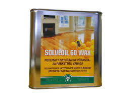 <b>масло для пола VEKKER</b> Wood Oil Solveoil 60 Wax с воском 2,5л ...