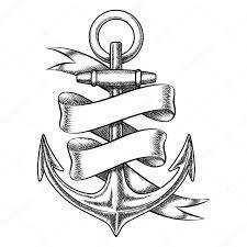 Anchor Tattoo Stock Vectors Royalty Free Anchor Tattoo