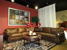 home bernhardt leather sectional loading images
