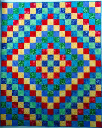 Trip Around The World Quilt Pattern Gorgeous Trip Around The World Brights Quilt Pattern BS4848 Advanced